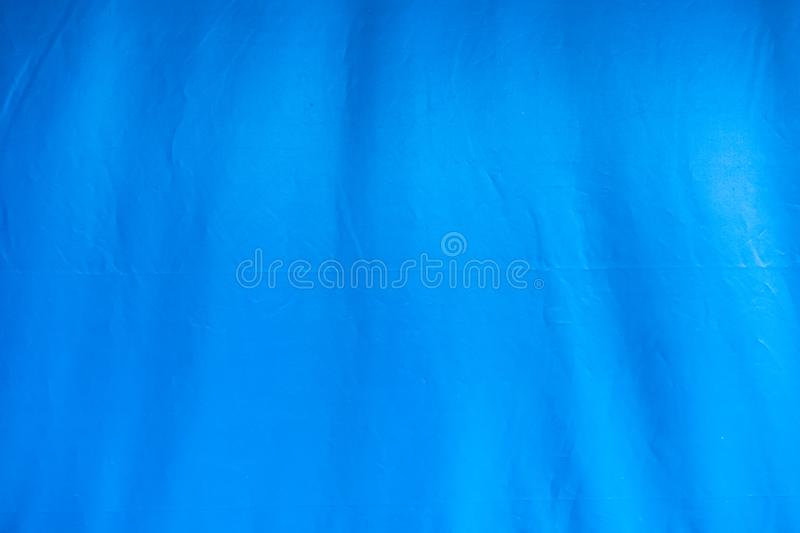Blue tent canvas with furrow background. Blue tent canvas with furrow abstract background stock images