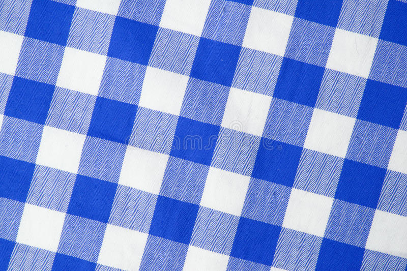 Blue Textile Stock Photography