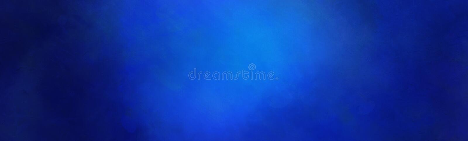 Blue texture background with spotlight or soft shining light with dark border grunge in textured vintage wall illustration royalty free stock photo