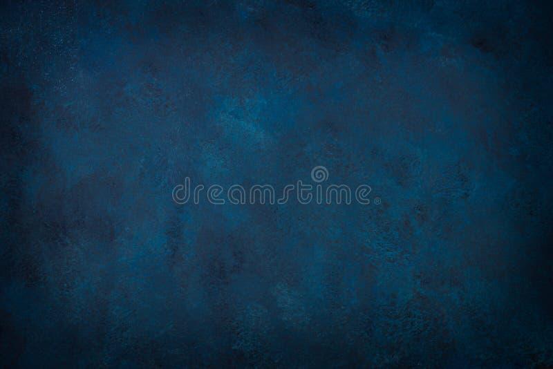 Blue texture dark slate background. Stone concrete surface vector illustration