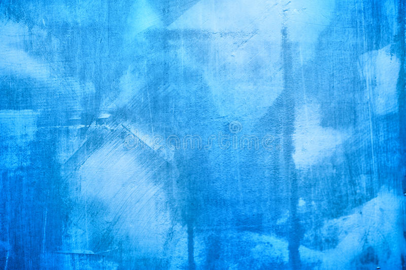 Blue texture of plaster on the wall for the background vector illustration