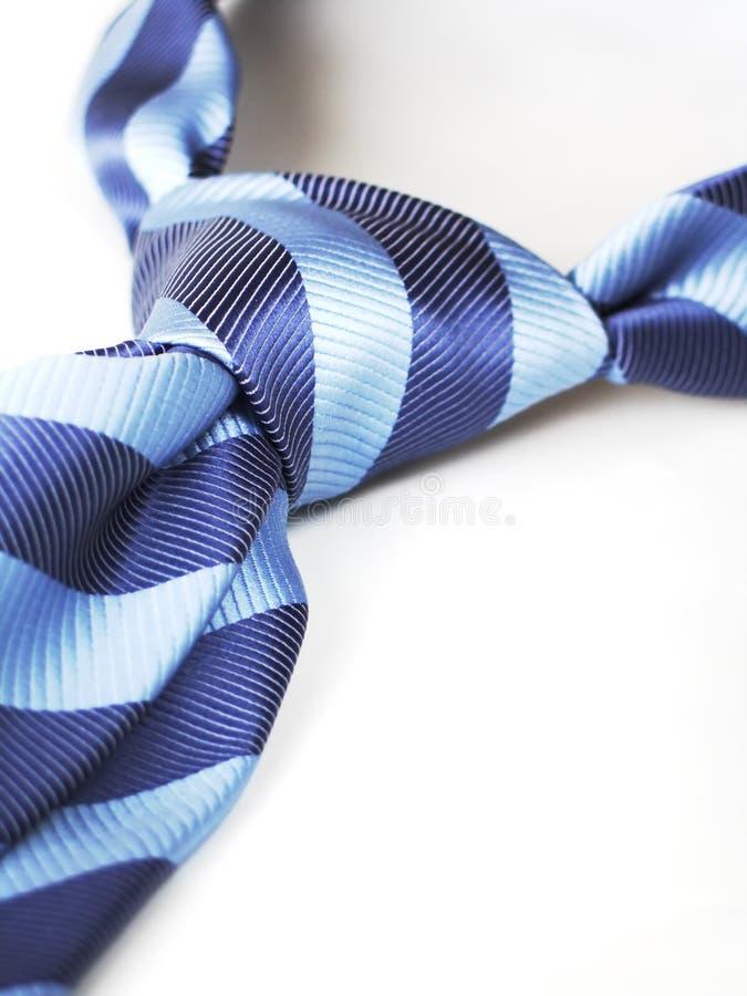 Blue tie 3 stock image