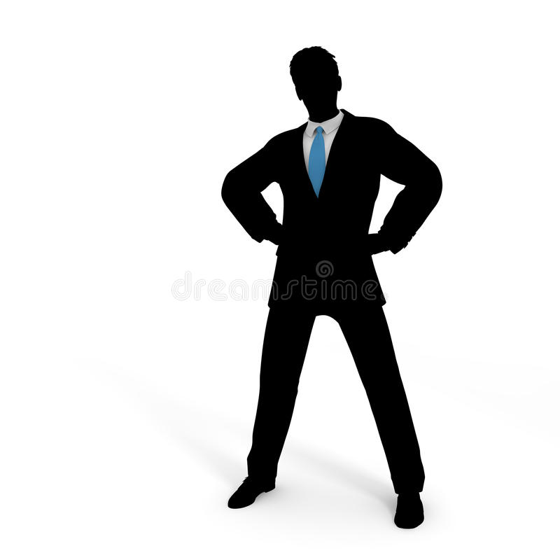 Blue tie. Businessman take a pause. Work Good luck. I toward the goal. I get to the starting line. Ran continue vector illustration