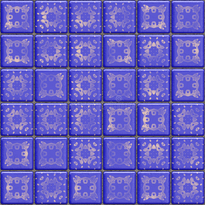 Download Blue Tile Royalty Free Stock Photography - Image: 3867307