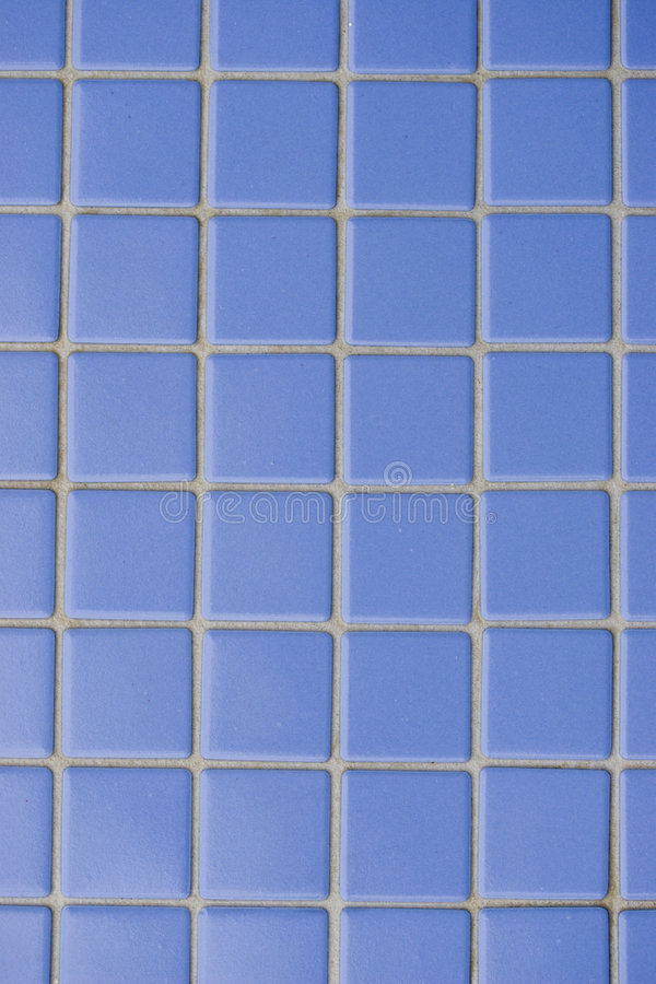 Blue tile royalty free stock photo