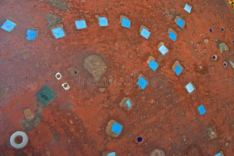 Download Blue tile texture stock image. Image of abstract, curves - 1161