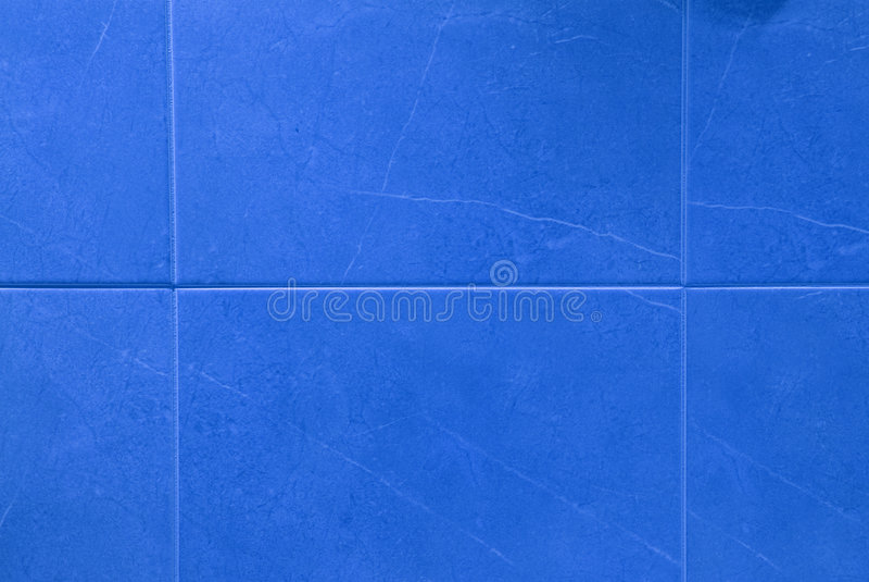 Blue tiles stock photo