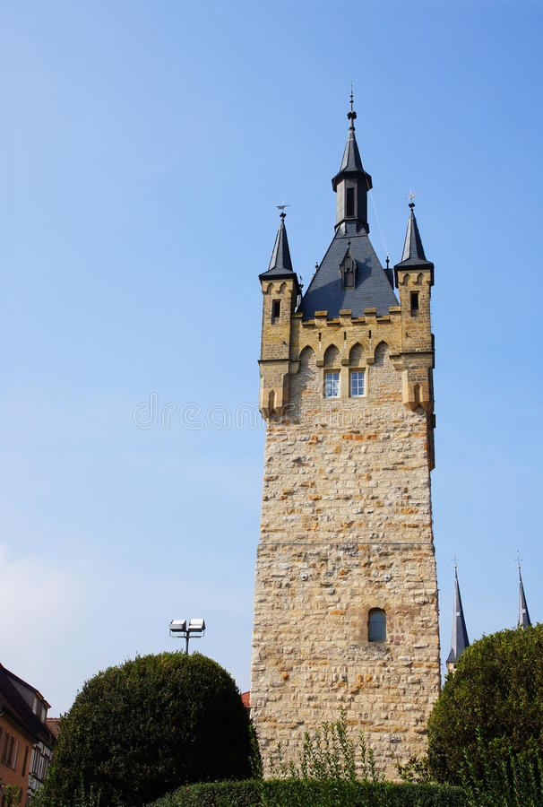 Free Blue Tower Bad Wimpfen Stock Photos - 34126473