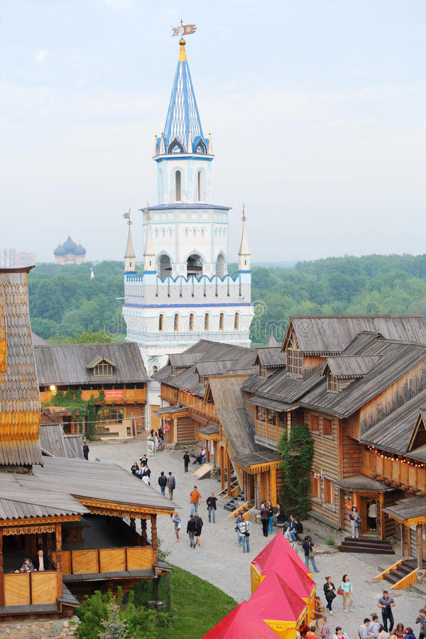 Download Blue Tower In Entertainment Center Kremlin Editorial Image - Image: 32791895