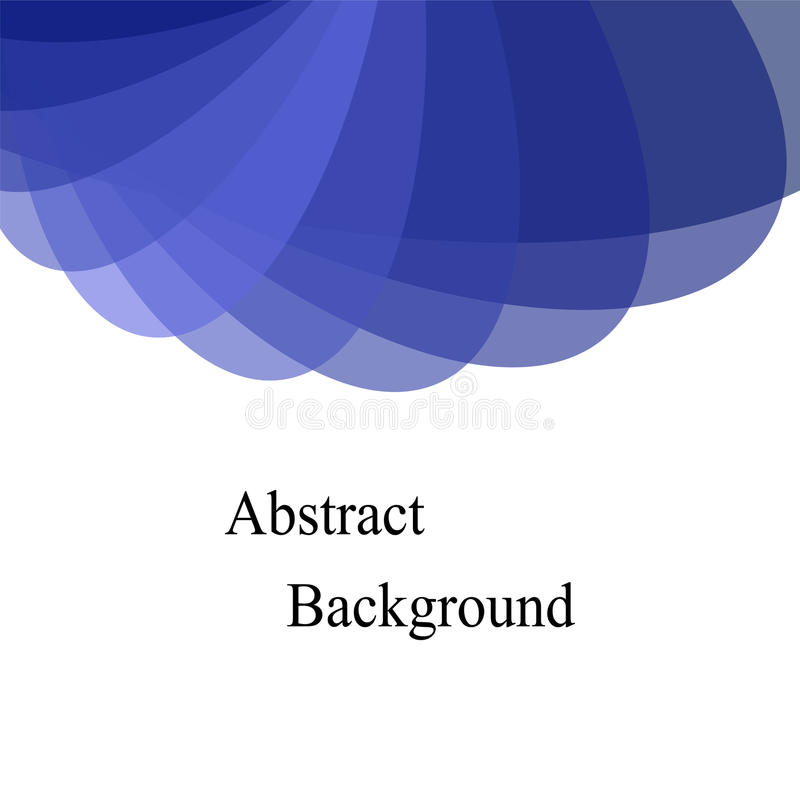 Blue Transparent Overlapping Ellipses Template For Fliers Banners - Templates for fliers