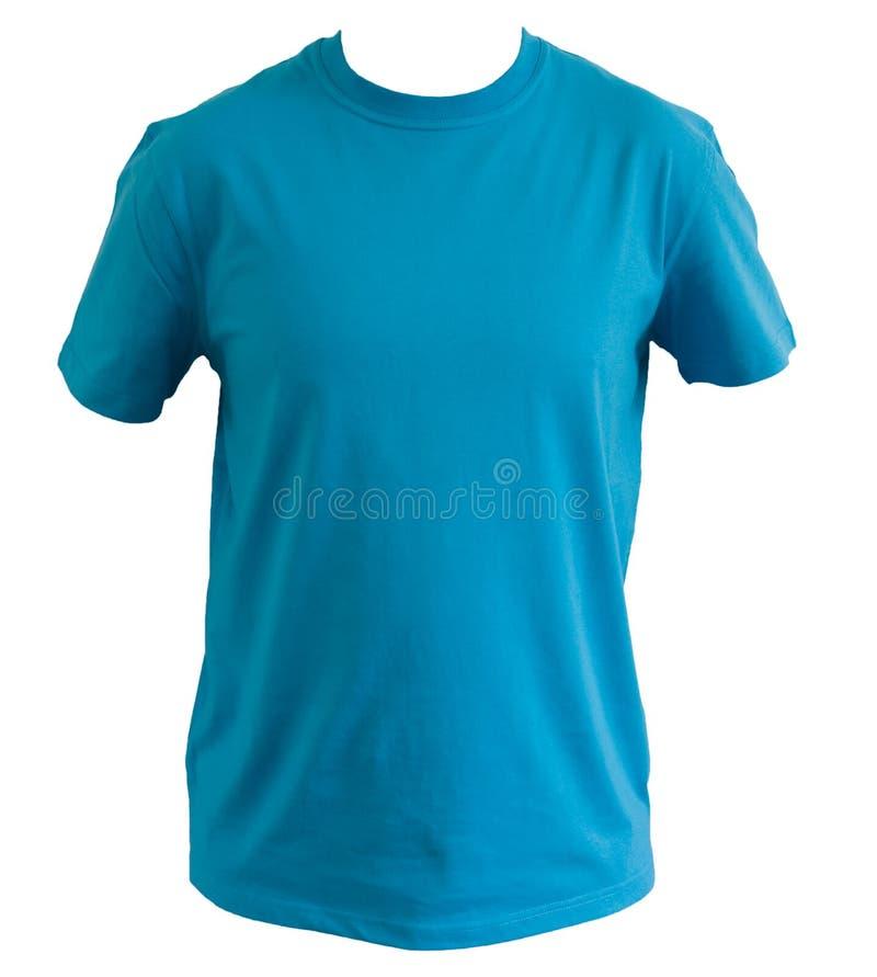 Blue tshirt royalty free stock photos