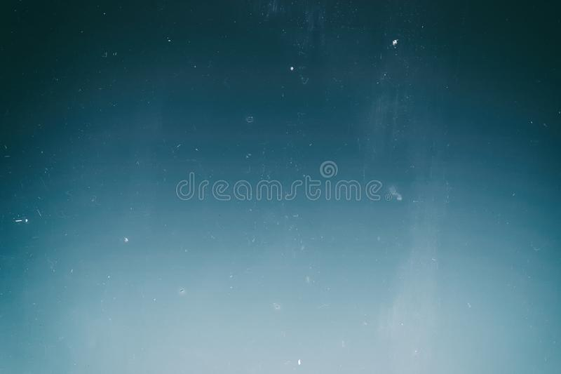 Blue, turquoise and aqua color. Photographic film effect. vector illustration