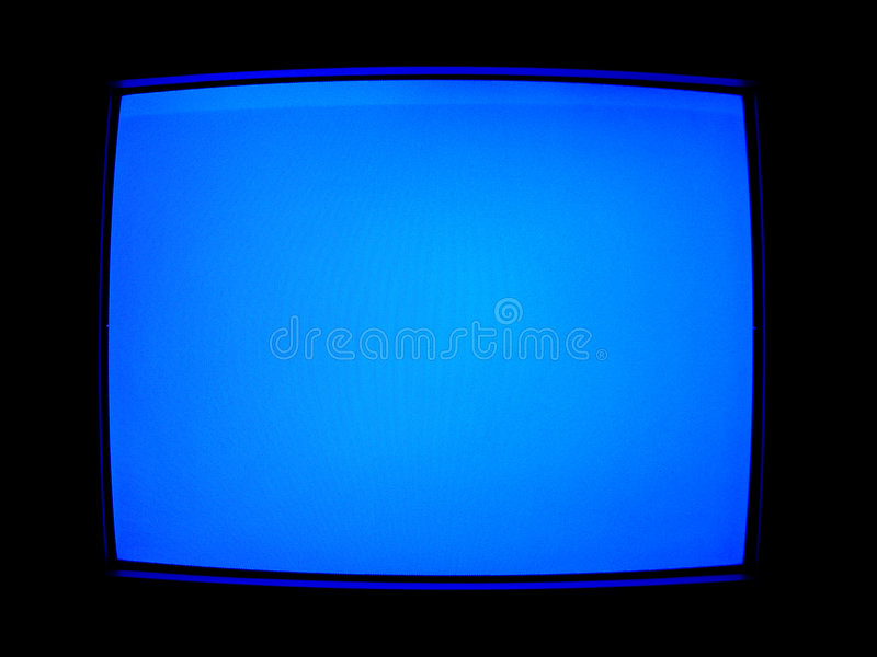 Download Blue TV Screen stock illustration. Image of electronic, wallpaper - 78047