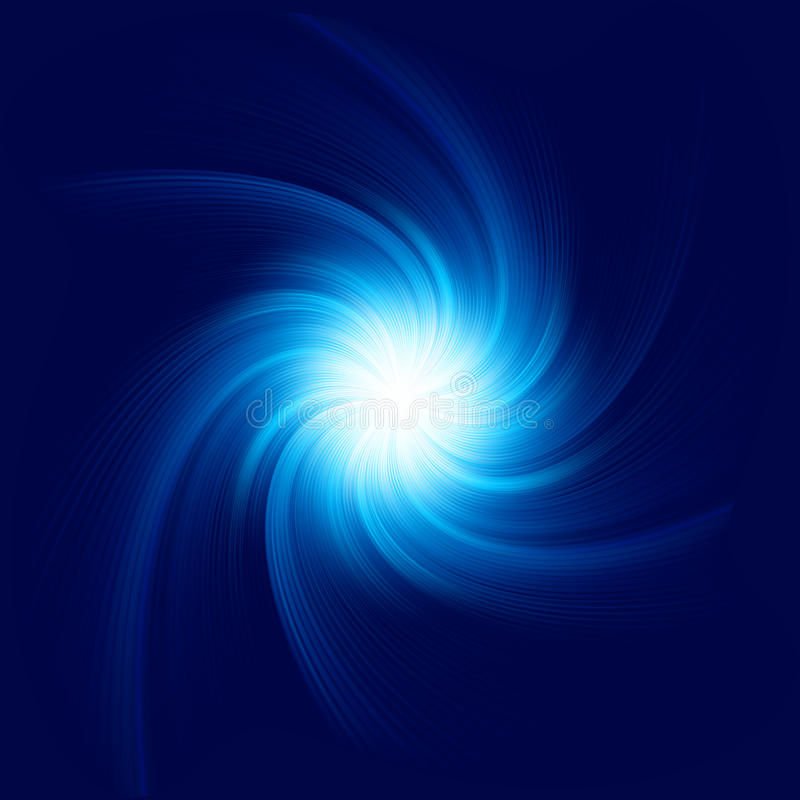 Free Blue Twirl Background. EPS 10 Royalty Free Stock Images - 32178259