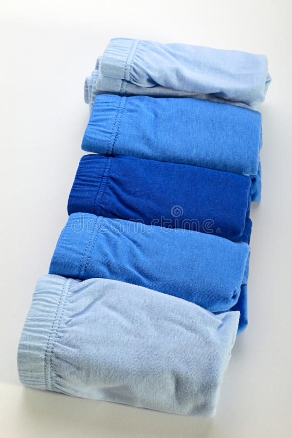 Download Blue underpants stock image. Image of isolated, textile - 26523981