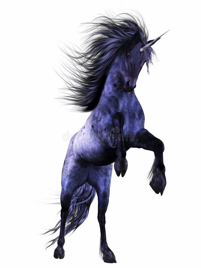 Download Blue Unicorn 2 stock illustration. Image of graphics - 18645697