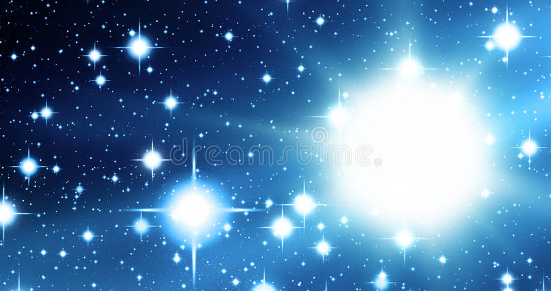 Download Blue universe stock illustration. Illustration of astronomy - 10120363
