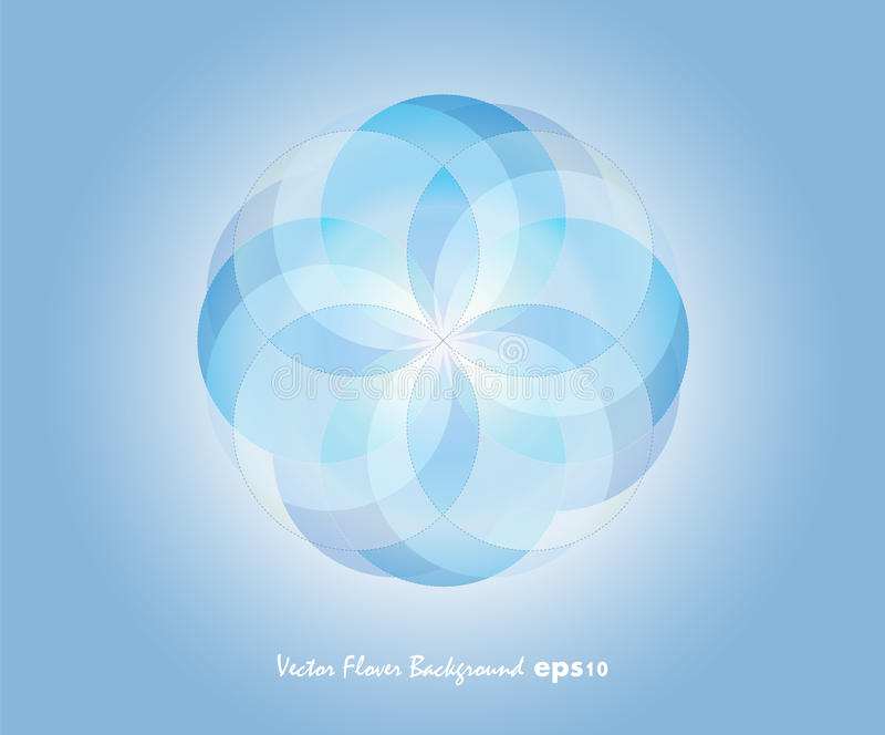 Download Blue Vector Flover Background Stock Vector - Illustration of prompt, text: 21698703