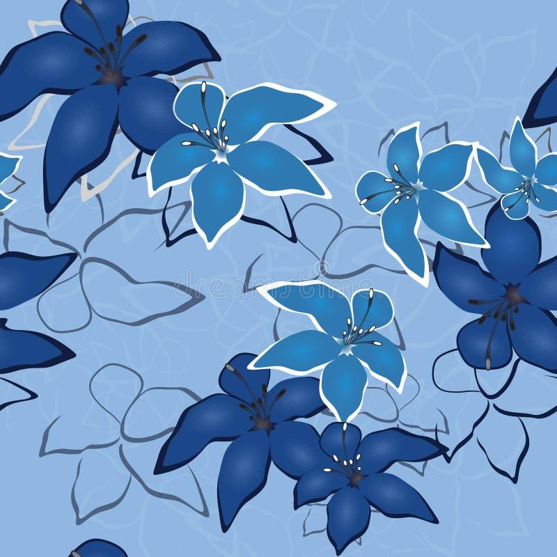 Flower background royalty free illustration