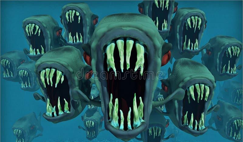 Blue, Vertebrate, Marine Biology, Organism royalty free stock photography