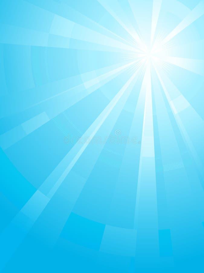 Free Blue Vertical Assymetric Light Burst Stock Image - 13141621