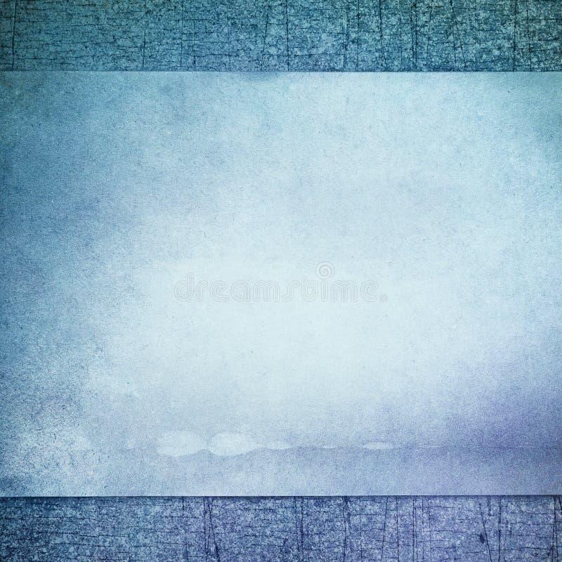 Blue Vintage Background Royalty Free Stock Photo