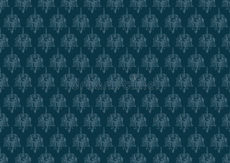 Download Blue Vintage Background Pattern Stock Photos - Image: 23533143