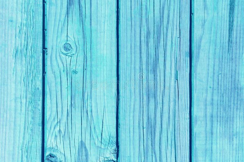 Blue vintage bright wooden boards royalty free stock photos