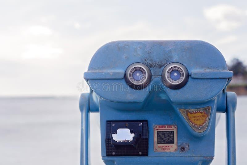 coin operated binoculars vintage