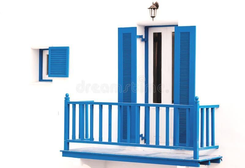 Download Blue vintage windows stock image. Image of garden, glass - 25362473