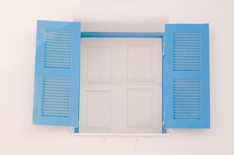 Download Blue vintage windows stock photo. Image of open, door - 25599232