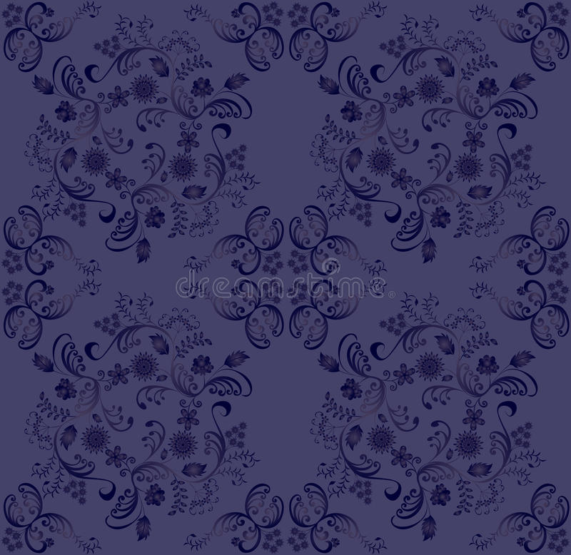 Blue-violet Gradient Pattern Royalty Free Stock Photography