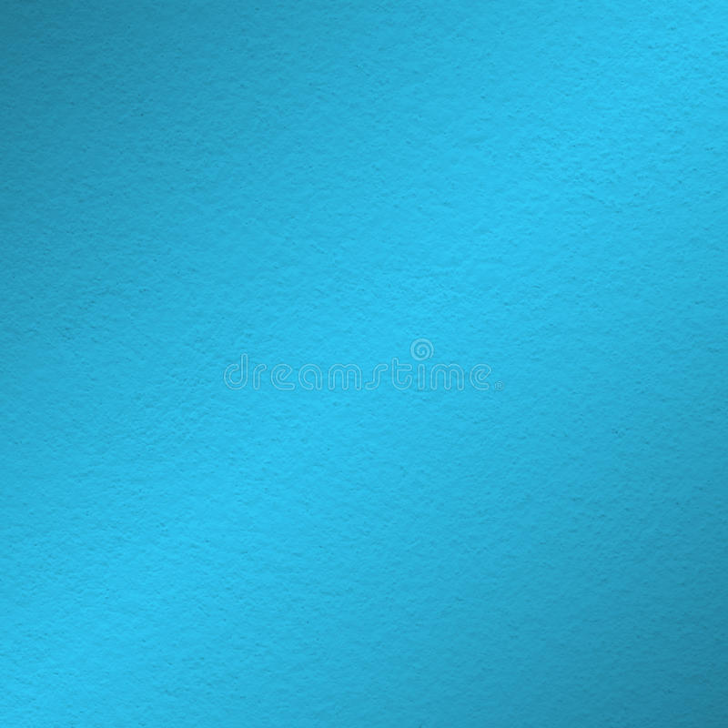 Blue wall paint texture. With oblique shade light stock illustration