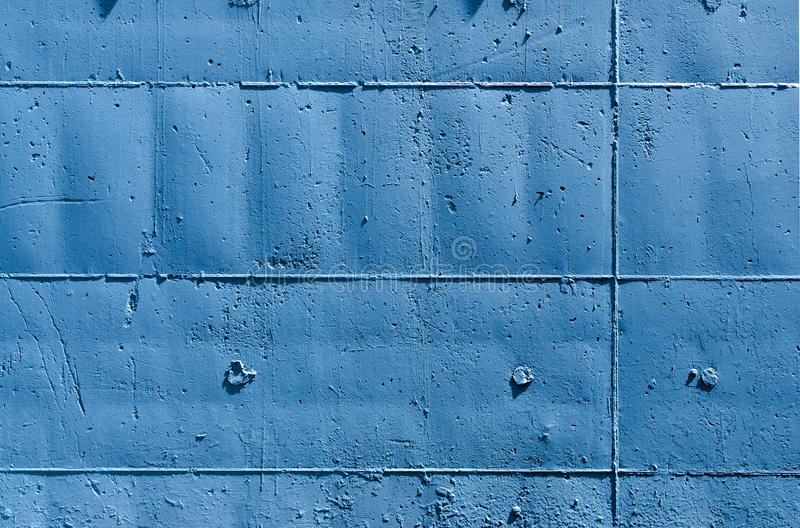 Download Blue Wall with Rectangles stock photo. Image of full - 25386578