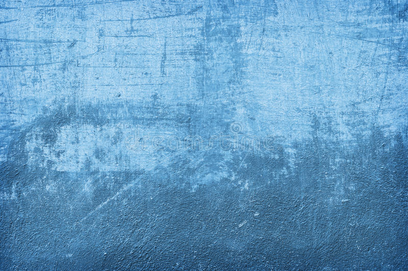 Blue wall texture. Blue, aged wall texture, background royalty free stock image