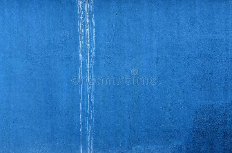 Download Blue Wall With White Trickle. Horizontal Stock Image - Image: 25386417