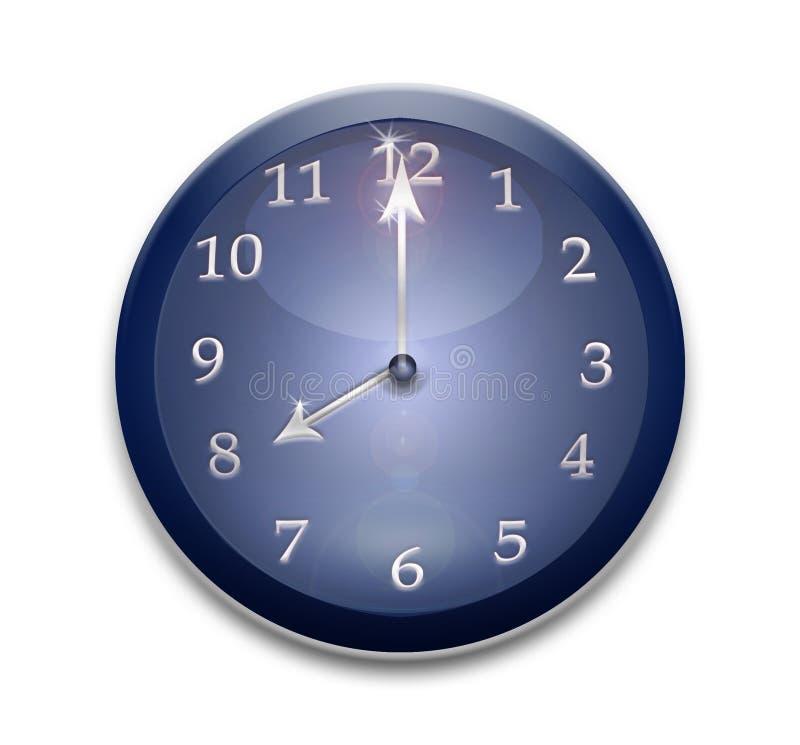 Blue watch stock photo