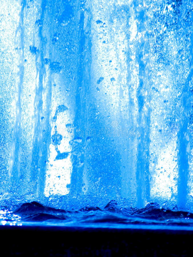 Blue water abstract royalty free stock photos