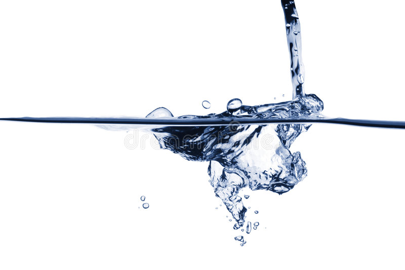 Download Blue water splash stock image. Image of fast, clean, health - 3999715