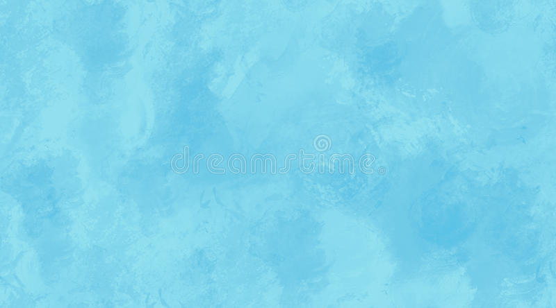 Blue Watercolor Background Seamless Tile Texture. Delicate blue watercolor seamless tile background texture stock illustration