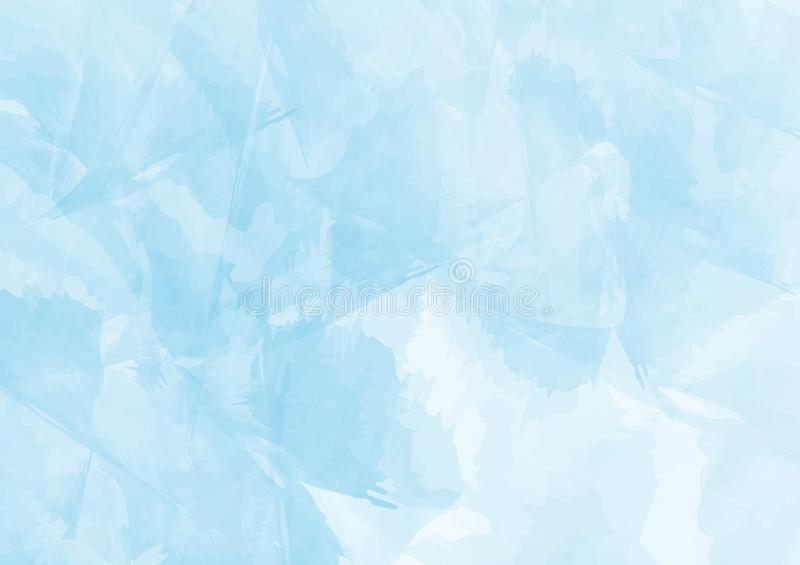 Blue Watercolor background,Vintage Style with space for text in put,design for wallpaper and texture,. stock illustration