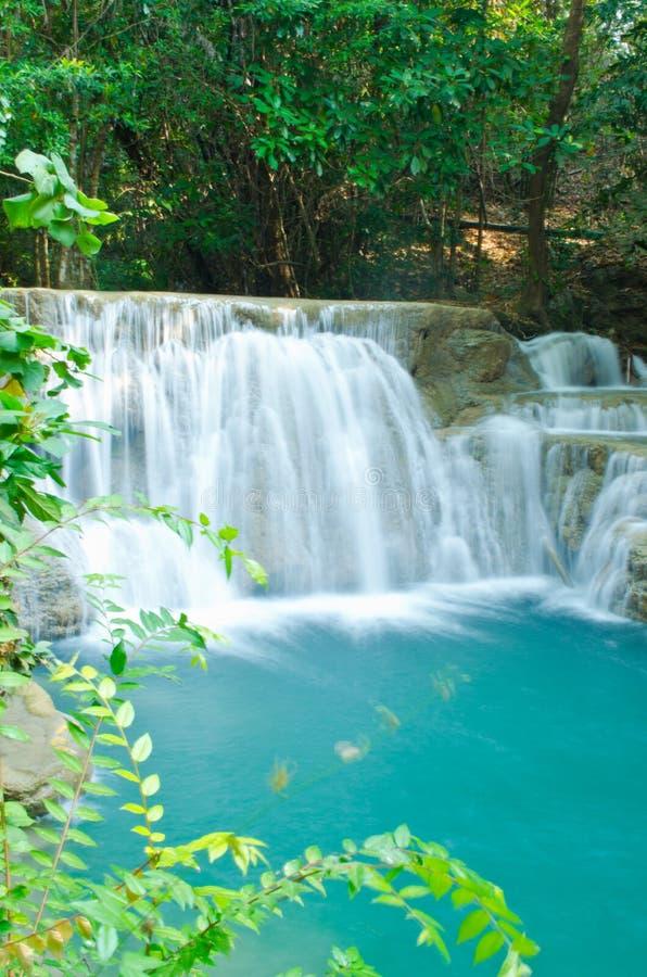 blue waterfall stock photography