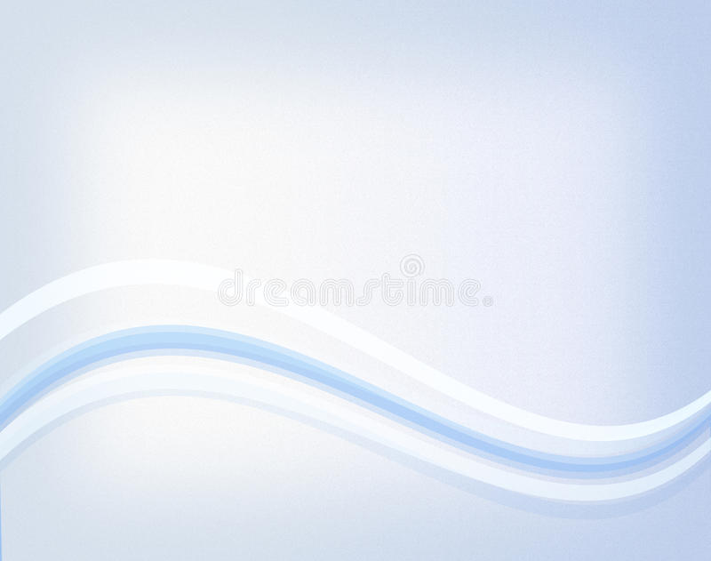 Blue Wave. An abstract blue wave wallpaper background royalty free illustration