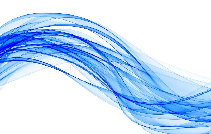 Blue wave stock illustration