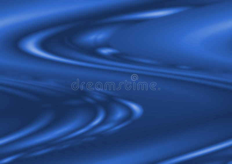 Blue wave royalty free illustration