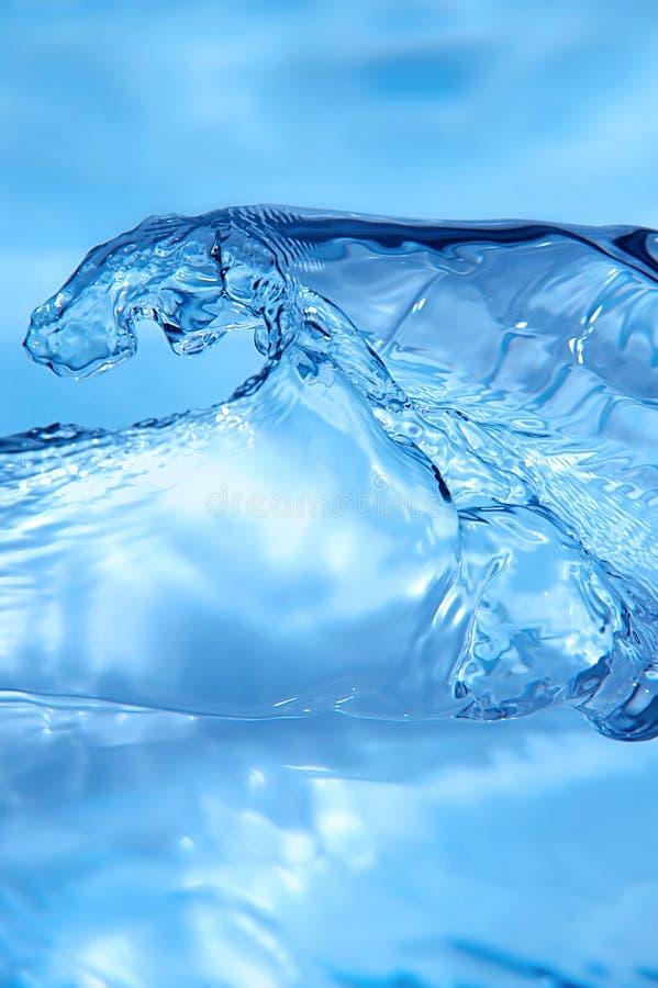 Download Blue wave stock photo. Image of flowing, macro, splashing - 5171608