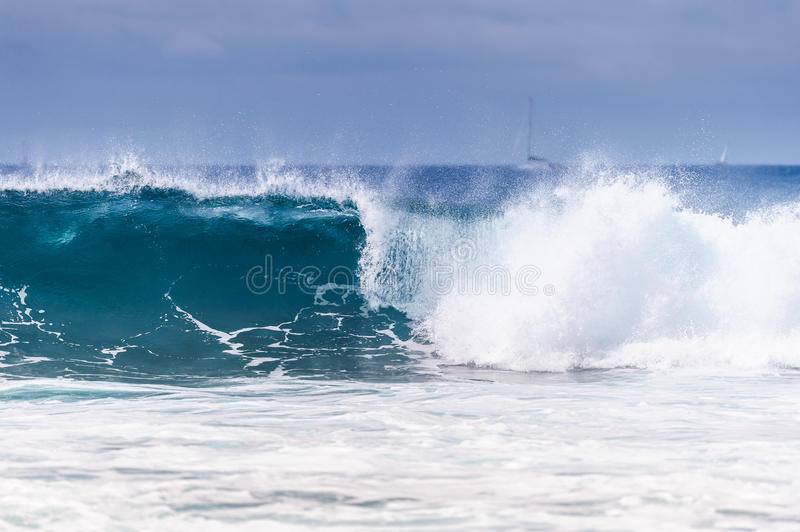 Blue wave Ocean royalty free stock photo