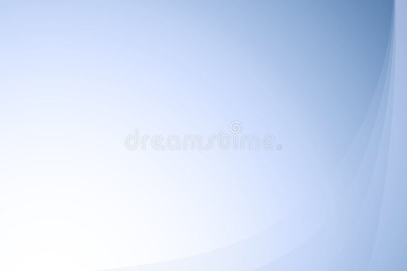 Blue wavy abstract gradient background royalty free stock image