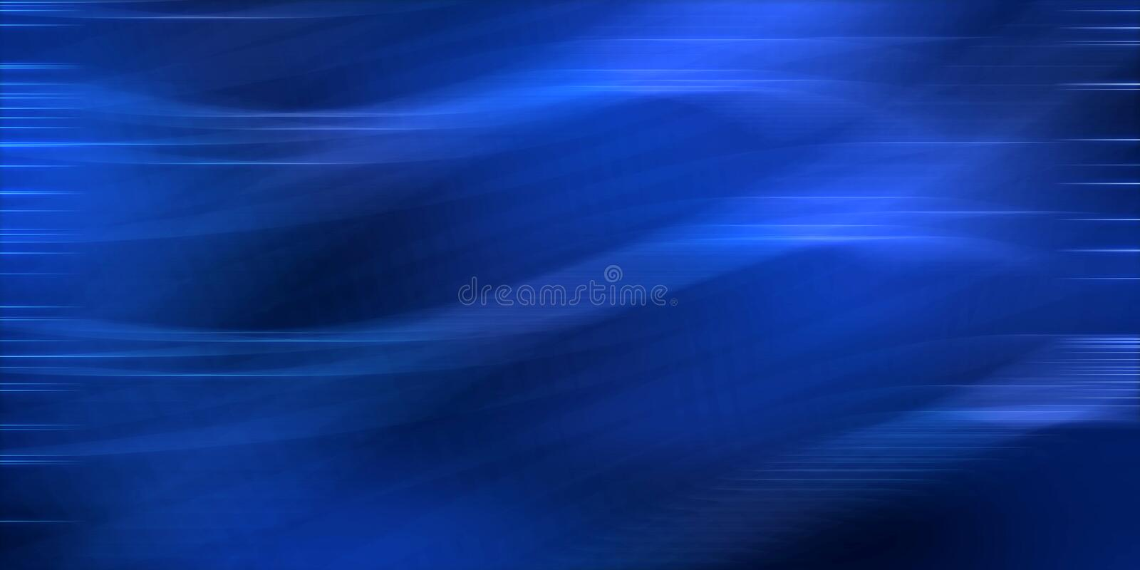 Blue wavy abstract image graphic background. Abstract blue background computer generated image