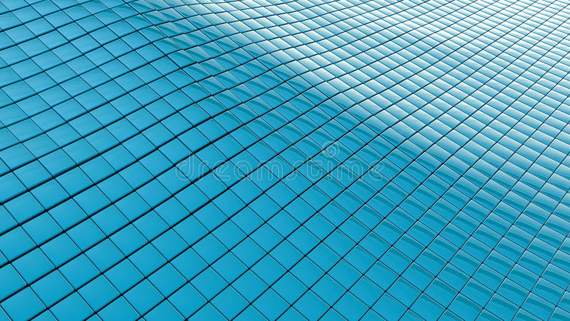 Download Blue Wavy Background Stock Photo - Image: 25722010